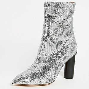 IRO Sequin boots